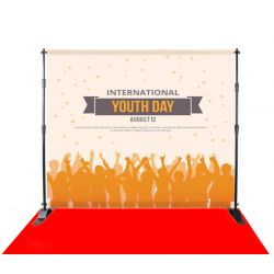 step and repeat Backdrop Stand - 8FTx10FT