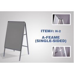 A-Frame (Single-Sided) - #H2 (Hardware Only)