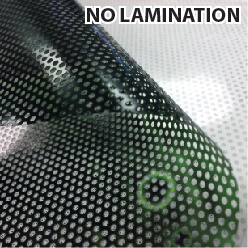 PERFORATED WINDOW ADHESIVE VINYL